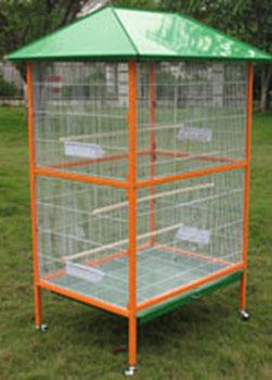 幼儿园手工纸箱鸟笼